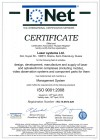Quality management system of Laser Systems complies with international standards ISO 9001: 2008 and GOST ISO 9001-2011